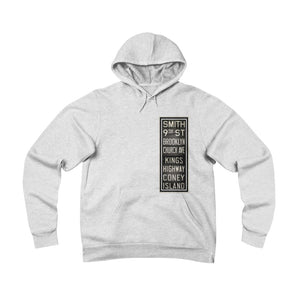 Brooklyn Vintage Transit Fleece Pullover Hoodie