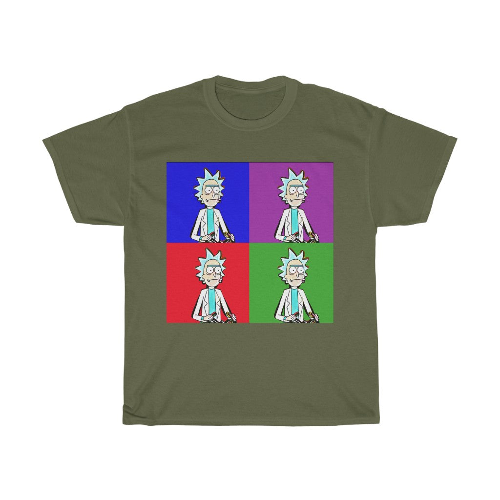 Rick & Morty Pop-Art Rick! T-Shirt