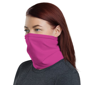 Hot Pink Neck Gaiter Ladies