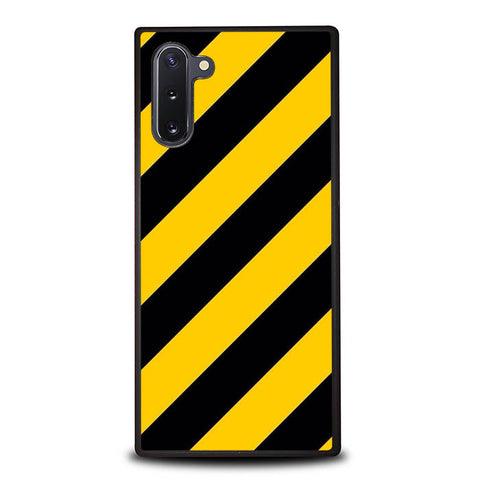 Black Yellow Samsung Galaxy Note 10 Case VG0934