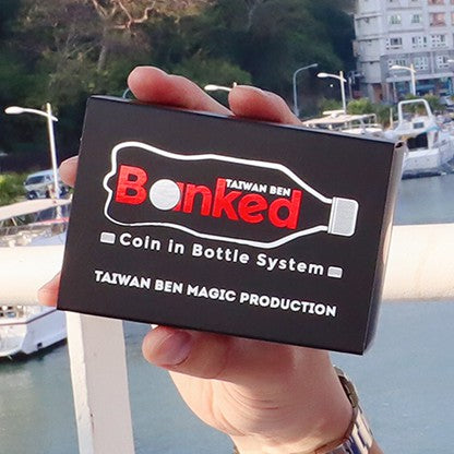 Banked - Black, Coke Zero (Gimmicks and Online Instructions) by Taiwan Ben