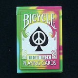 Bicycle Tie Dye 1st Edition Rider Back Deck