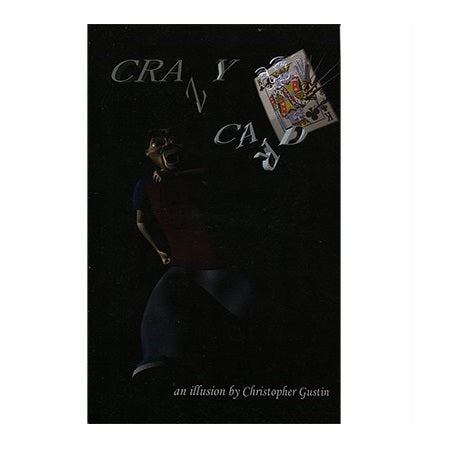 Crazy Card Booklet by Christopher Gustin - Book