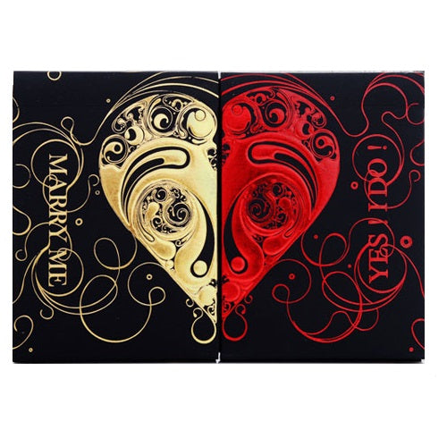 Set of 2 Love Promise Vow Luxury Decks by Bocopo