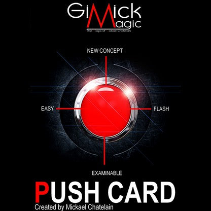 Push Card (English) by Mickael Chatelain