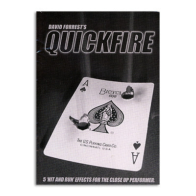 Quickfire by David Forrest - Book