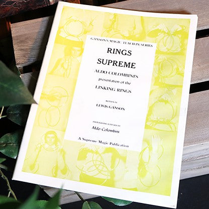 Rings Supreme by Lewis Ganson & Aldo Colombini - Book