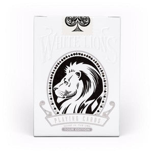 White Lions Tour Edition Reverse (BLACK) Deck
