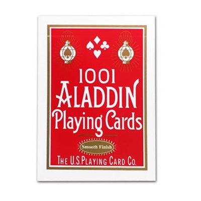 1001 Aladdin Smooth Finish Deck - RED