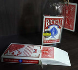 Card In Bottle (Bicycle Red Deck)