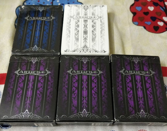 Artifice V2 Playing Cards by Ellusionist (UNSEALED, BRAND NEW)