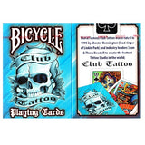 Bicycle Club Tattoo Blue Deck
