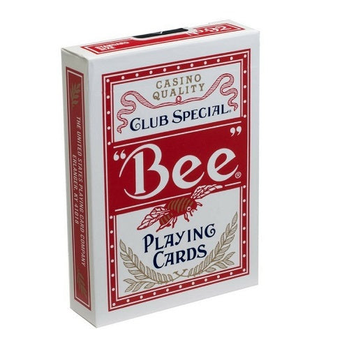 Bee Casino Quality Deck - Red
