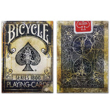 Bicycle Vintage Series 1800 (Blue) Marked Deck