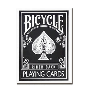 Bicycle Black Rider Back Limited Remake Edition Deck