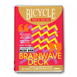Bicycle Brainwave BLUE Trick Deck