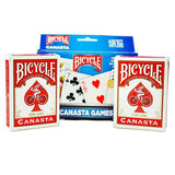 Set of 2 Decks of Bicycle Canasta Game Cards