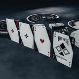 Bicycle Cardistry Black & White Deck by De'vo