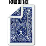 Bicycle Double Back (BLUE/BLUE) Gaff Deck