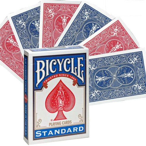 Bicycle Double Back (RED/BLUE) Gaff Deck