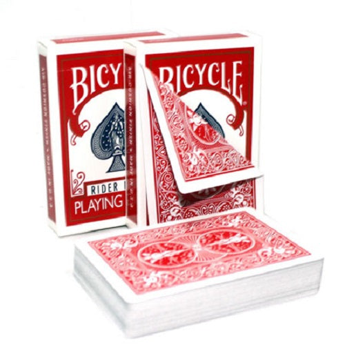 Bicycle Double Back (RED/RED) Gaff Deck