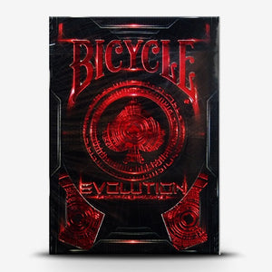 Bicycle Evolution RED Deck