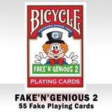 Bicycle Fake 'N' Genious 2.0 Deck