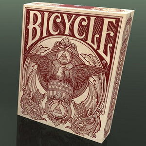 Bicycle Federal 52 Reserve Note Deck - White
