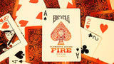 Bicycle Fire Elements Series Deck