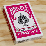 Bicycle Rider Back (FUCHSIA) Deck