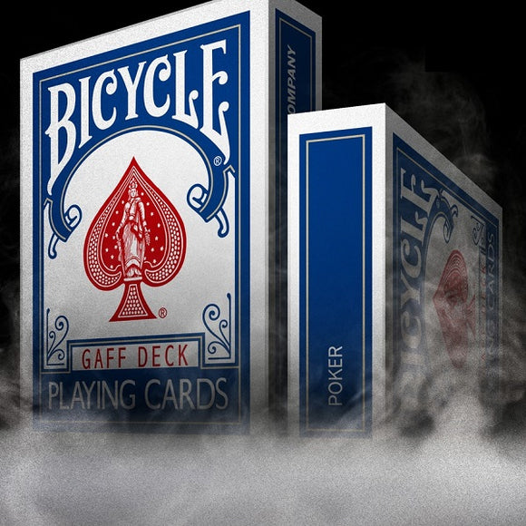 Bicycle Gaff Rider Back (BLUE) Deck by Bocopo