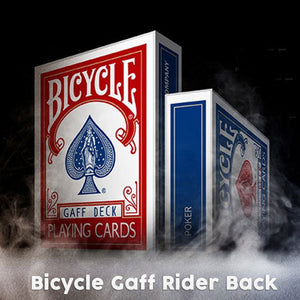 Bicycle Gaff Rider Back (RED) Deck by Bocopo