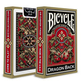 Bicycle Gold Dragon Back Deck