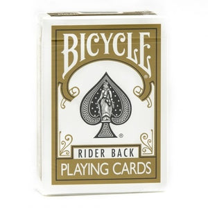 Bicycle Rider Back (GOLD) Deck
