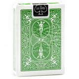 Bicycle Rider Back (GREEN) Deck