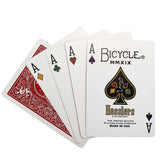 Bicycle Hesslers Rider Back Deck - RED