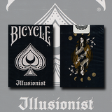 Bicycle Illusionist Dark Edition Deck