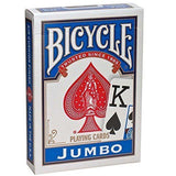 Brick of 12 Bicycle Jumbo Index 6 Red & 6 Blue Decks