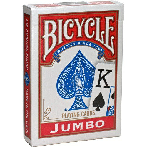 Bicycle Jumbo Index Deck - RED