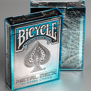 Bicycle Metal Rider Back (BLUE) Edition Deck