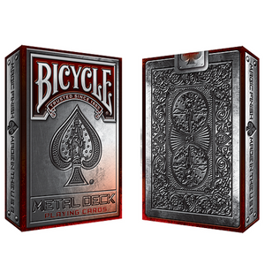 Bicycle Metal Rider Back RED Edition Deck