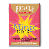 Bicycle Mirage BLUE Trick Deck
