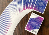 Bicycle Neon Blue Aurora Cardistry Playing Cards
