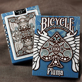 Bicycle Pluma BLUE Deck