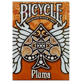 Bicycle Pluma ORANGE Deck