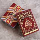 Bicycle Red Castle Deck