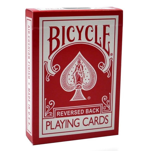 Bicycle Reversed Back (RED) 2nd Generation Deck