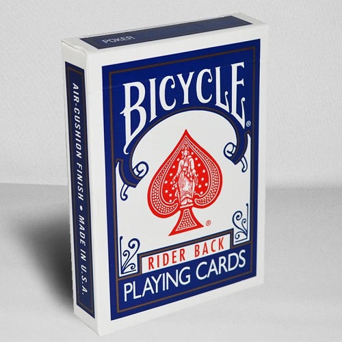 Bicycle Rider Back (BLUE) Deck