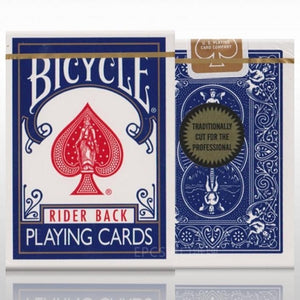 Bicycle (Gold Standard) - BLUE Rider Back Deck by Richard Turner