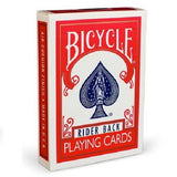 Bicycle Rider Back (RED) Deck